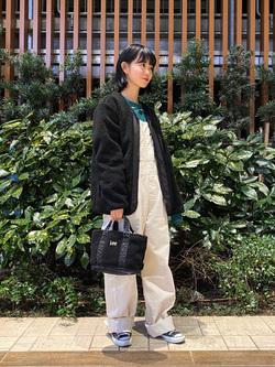 Lee 武蔵小杉店のKumikoさんのLeeの【年間ベストセラー】オーバーオールを使ったコーディネート