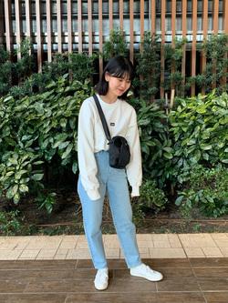 Lee 武蔵小杉店のKumikoさんのLeeの終了ミニショルダーバッグを使ったコーディネート