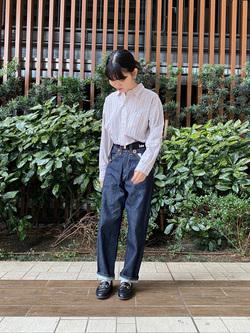 Lee 武蔵小杉店のKumikoさんのLeeの【ガレージセール】BUDDY LEE カウボーイパンツ【ユニセックス】を使ったコーディネート