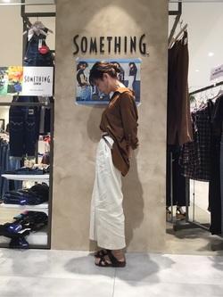 錦糸町PARCO店のmikiさんのEDWINの【EDWIN×SaoriOyamada】シャツを使ったコーディネート