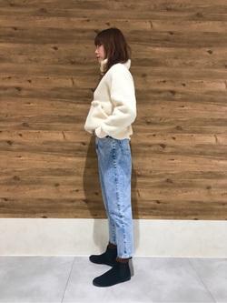 錦糸町PARCO店のmikiさんのSOMETHINGのSOMETHING W-FRONT ルーミースリムを使ったコーディネート
