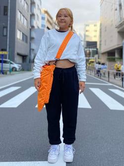 ALPHA SHOP渋谷店のn a n a s a さんのALPHAの【直営店先行販売】ヘルメットバッグを使ったコーディネート