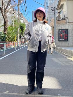 ALPHA SHOP渋谷店のn a n a s a さんのALPHAのL-2B アポロIIを使ったコーディネート