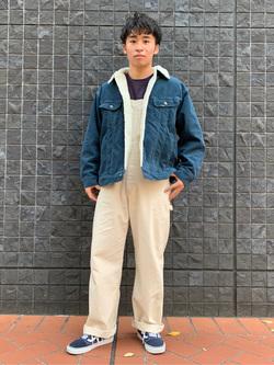 大阪店のmineさんのLeeのBOA STORM RIDER ジャケット【コーデュロイ】を使ったコーディネート