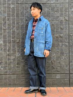 大阪店のmineさんのLeeのARCHIVES 50S 91J LOCO JACKETを使ったコーディネート