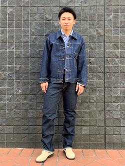 大阪店のmineさんのLeeの【Winter sale】101 PROJECT COWBOY JACKETを使ったコーディネート