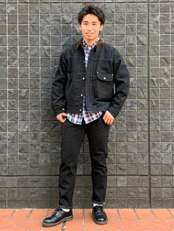 大阪店のmineさんのLeeの101 PROJECT STORM COWBOY JACKETを使ったコーディネート