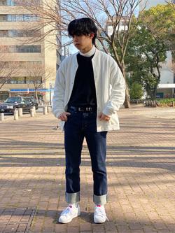 Lee 名古屋店のKazumaさんのLeeのAMERICAN RIDERS 101Z ストレートジーンズを使ったコーディネート