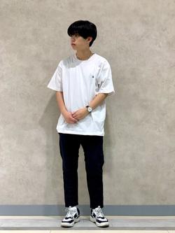 Lee 名古屋店のKazumaさんのLeeの【Lee×GRAMICCI(グラミチ)】ペインターパンツを使ったコーディネート