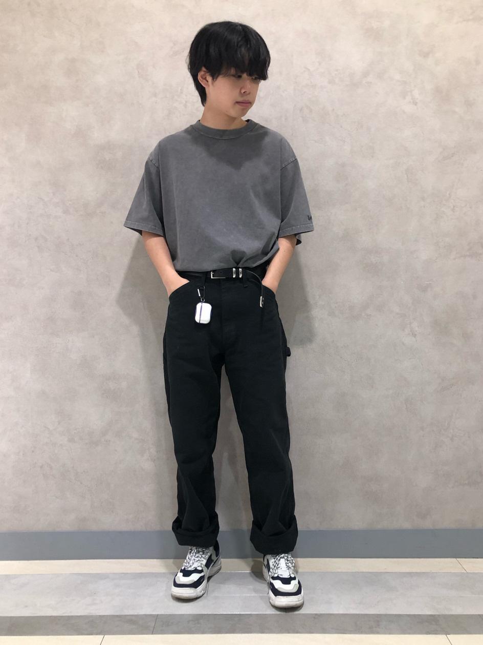 Lee 名古屋店のKazumaさんのLeeの【ユニセックス】DUNGAREES ペインターパンツを使ったコーディネート
