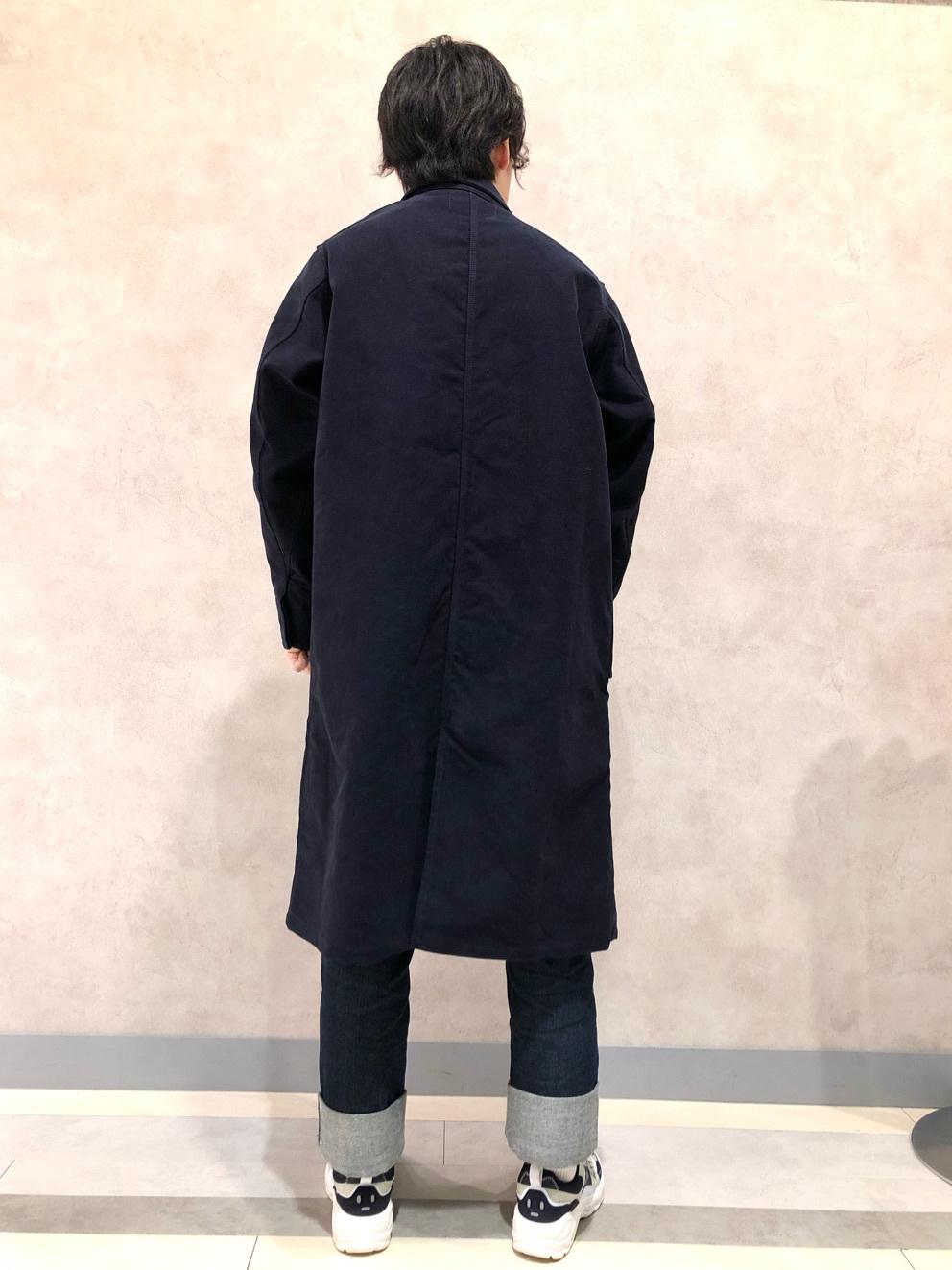 Lee 名古屋店のKazumaさんのLeeの【直営店・WEB限定】サービスコートを使ったコーディネート