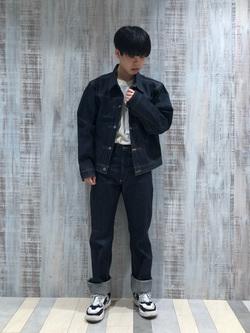 Lee 名古屋店のKazumaさんのLeeの【Archives】WWII 大戦モデル101 COWBOY PANTSを使ったコーディネート
