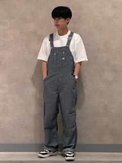Lee 名古屋店のKazumaさんのLeeの【SALE】ポケット付き 半袖Tシャツを使ったコーディネート
