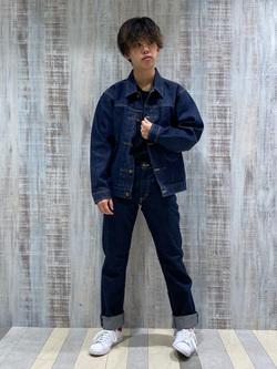 Lee 名古屋店のKazumaさんのLeeの101 PROJECT COWBOY JACKETを使ったコーディネート