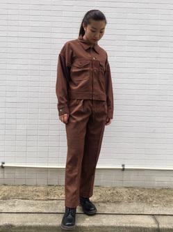 Lee アミュプラザ博多店のNanamiさんのLeeの【セットアップ対応】ジャケットを使ったコーディネート