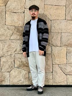 LINKS UMEDA店の番場 祐太郎さんのEDWINの【期間限定10%OFF】503 レギュラーストレートを使ったコーディネート