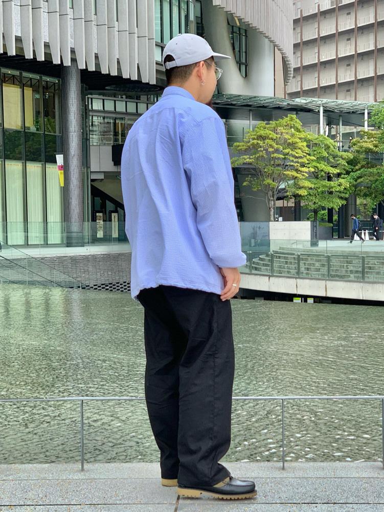 LINKS UMEDA店の番場 祐太郎さんのEDWINの【SALE】コーチジャケット (BOXフィット)を使ったコーディネート