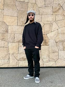 LINKS UMEDA店の番場 祐太郎さんのEDWINの【直営店限定】ハタラクロ ストレート メンズを使ったコーディネート