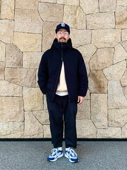 LINKS UMEDA店の番場 祐太郎さんのEDWINの【シークレットセーール!!】ワークパンツ[コットンツイル]を使ったコーディネート