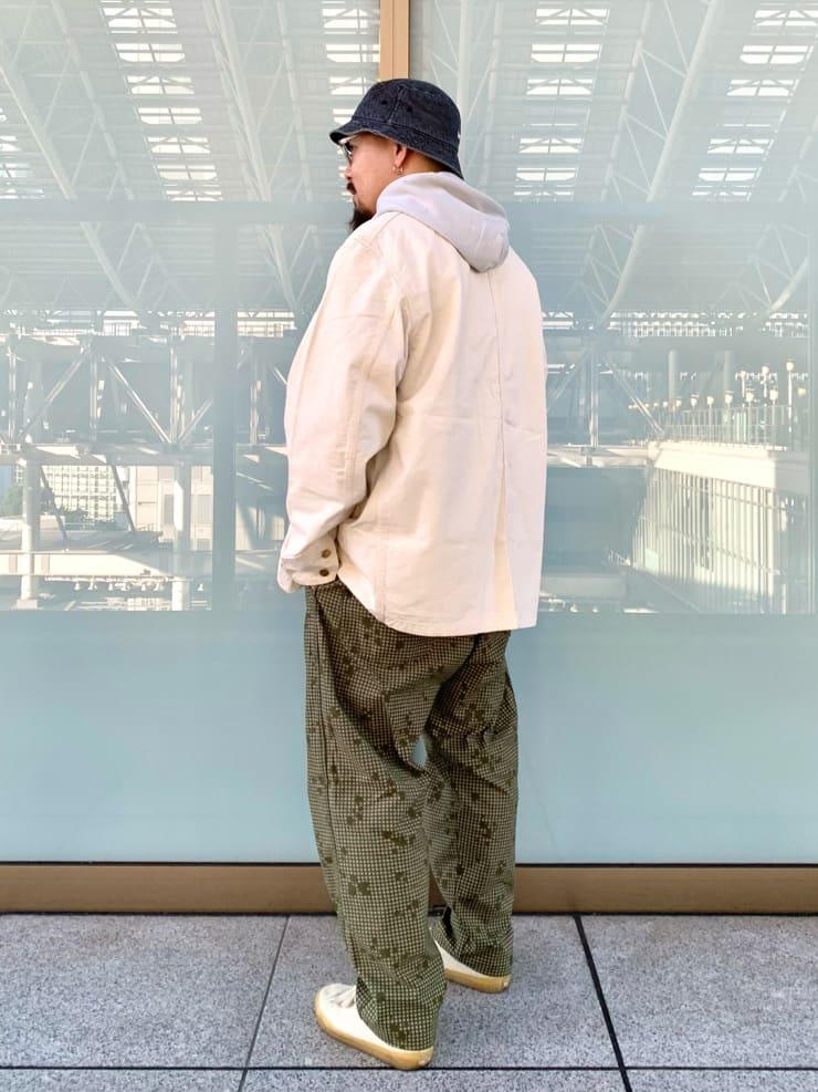 ルクア大阪の番場 祐太郎さんのLeeの【試着対象】【期間限定10%OFF】カバーオールジャケットを使ったコーディネート
