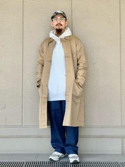 ルクア大阪の番場 祐太郎さんのLeeの【試着対象】サービスコートを使ったコーディネート