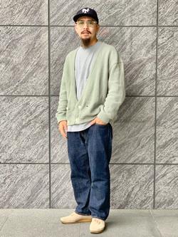 LINKS UMEDA店の番場 祐太郎さんのEDWINの【コンセプトショップ限定】REGULER STRAIGHT 【レングス82cm】を使ったコーディネート