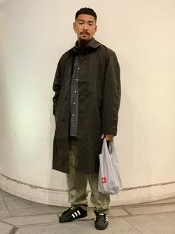 LINKS UMEDA店の番場 祐太郎さんのEDWINのデニスラ タートルネック ロングスリーブTシャツを使ったコーディネート
