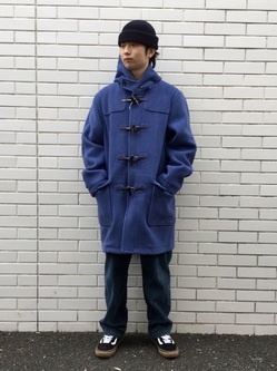 TOKYO HARAJUKU店のSHUさんのEDWINの【コンセプトショップ限定】DUFFEL COATを使ったコーディネート