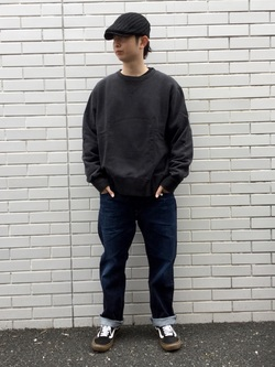 TOKYO HARAJUKU店のSHUさんのEDWINの【コンセプトショップ限定】REGULER STRAIGHT 【レングス71cm】を使ったコーディネート