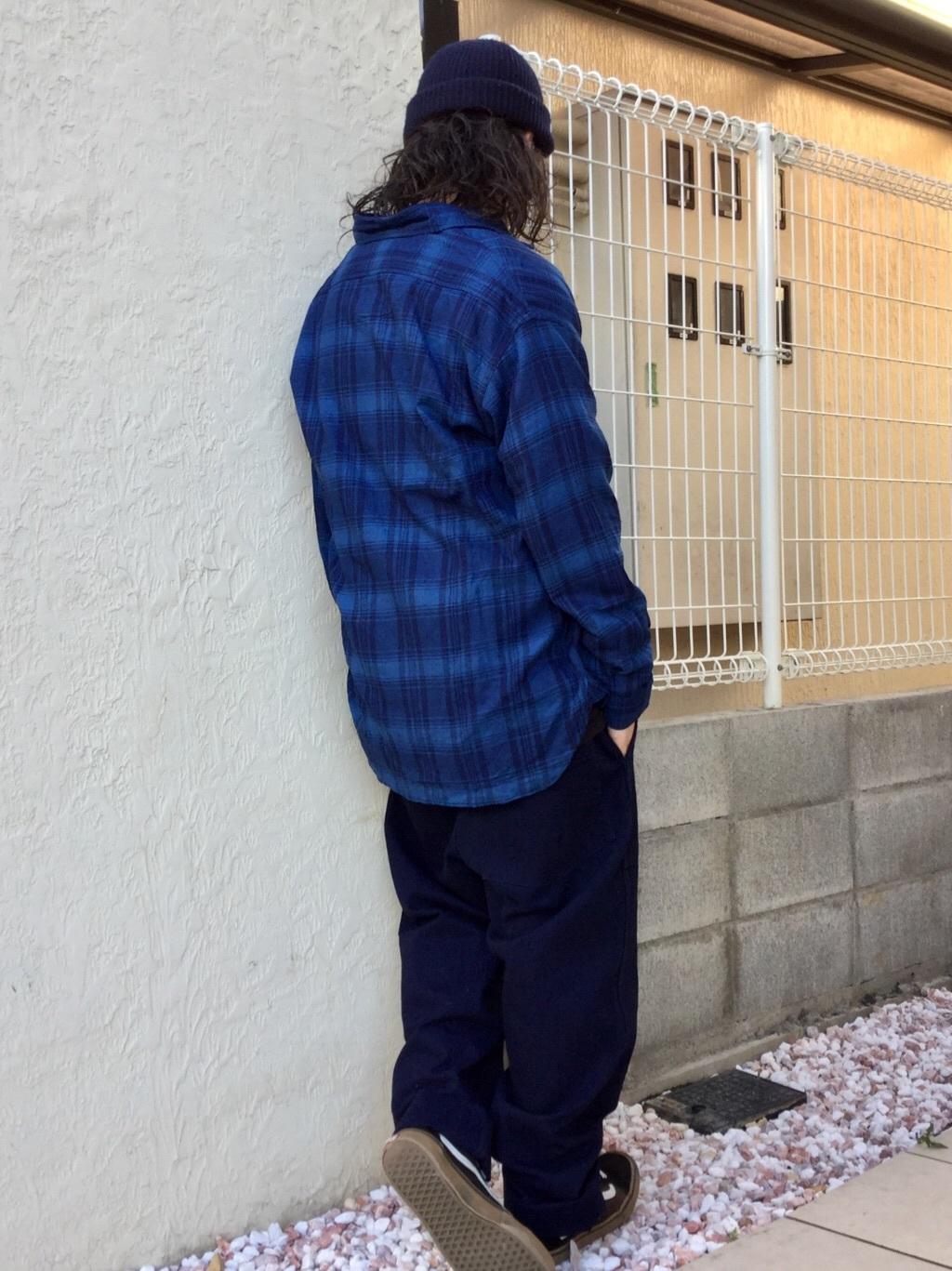 TOKYO HARAJUKU店のSHUさんのEDWINの【コンセプトショップ限定】INDIGO GARMENTS CHECK FLANNEL SHIRTSを使ったコーディネート