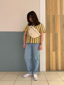 札幌パセオ店のPinanchosuさんのLeeの終了【再値下げ!サマーセール】オープンカラーシャツ 半袖を使ったコーディネート
