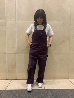 札幌パセオ店のPinanchosuさんのLeeのワークミリタリー オーバーオールを使ったコーディネート
