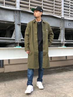 ルミネエスト新宿店のYukiyaさんのLeeの【直営店・WEB限定】サービスコートを使ったコーディネート