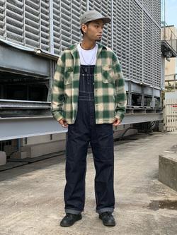 ルミネエスト新宿店のYukiyaさんのLeeの【トップス15%OFFクーポン対象】【さらっと羽織れる】シャツジャケットを使ったコーディネート