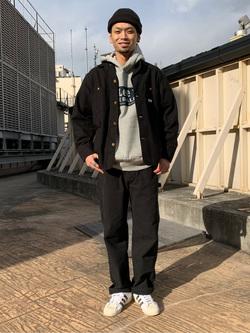 ルミネエスト新宿店のYukiyaさんのLeeのカバーオールジャケットを使ったコーディネート