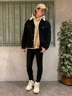 ルミネエスト新宿店のYukiyaさんのLeeの【Winter sale】BOA STORM RIDER ジャケット【コーデュロイ】を使ったコーディネート