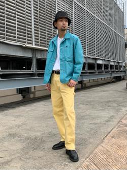ルミネエスト新宿店のYukiyaさんのLeeの【セットアップ対応】ロコジャケット/カバーオールを使ったコーディネート