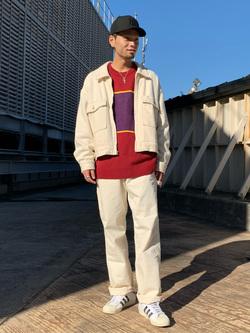 ルミネエスト新宿店のYukiyaさんのLeeの【セットアップ対応】チェトパ ジャケットを使ったコーディネート