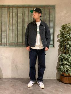 ルミネエスト新宿店のYukiyaさんのLeeのLEE PIPES ビッグフィット バギージャケットを使ったコーディネート