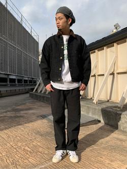 ルミネエスト新宿店のYukiyaさんのLeeの【Winter sale】101 PROJECT STORM COWBOY JACKETを使ったコーディネート