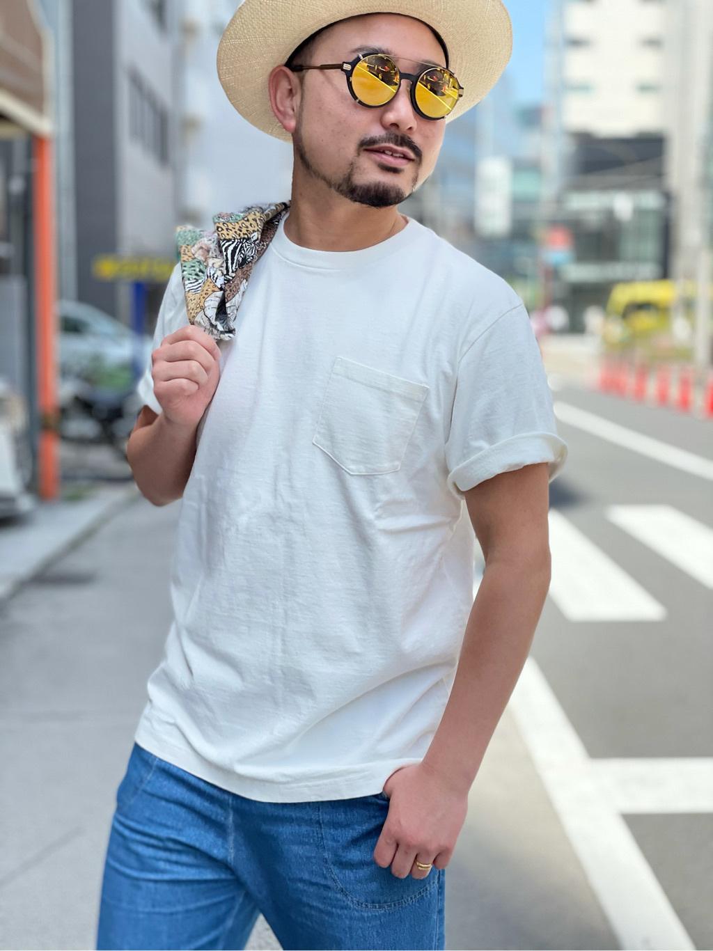 ALPHA SHOP渋谷店のKataoka.RさんのALPHAの【直営店限定】半袖Tシャツ MADE IN USAを使ったコーディネート