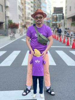 ALPHA SHOP渋谷店のKataoka.RさんのEDWINのデニスラ スリムテーパードを使ったコーディネート