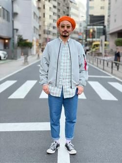 ALPHA SHOP渋谷店のKataoka.RさんのALPHAの【Safari 4月号掲載】SHELTECH ライトL-2Bを使ったコーディネート