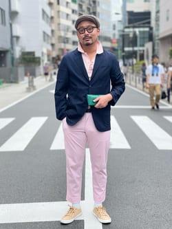 ALPHA SHOP渋谷店のKataoka.RさんのALPHAの【SALE】【Begin 12月号掲載】アンコンジャケットを使ったコーディネート