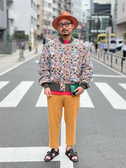 ALPHA SHOP渋谷店のKataoka.RさんのALPHAの【直営店限定】ALPHA×PLAYBOY L-2Bを使ったコーディネート
