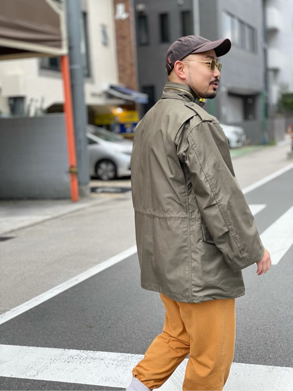 ALPHA SHOP渋谷店のKataoka.RさんのALPHAの【試着対象】【期間限定10%OFF】M-65 NYCO フィールドジャケットを使ったコーディネート