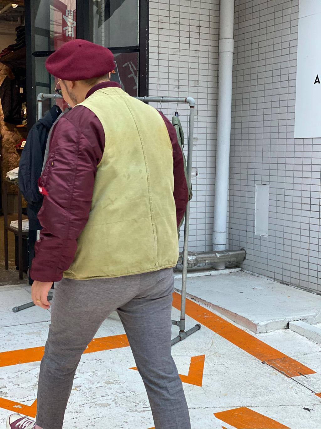 ALPHA SHOP渋谷店のKataoka.RさんのALPHAのMA-1 ナイロンジャケット U.S.サイズを使ったコーディネート