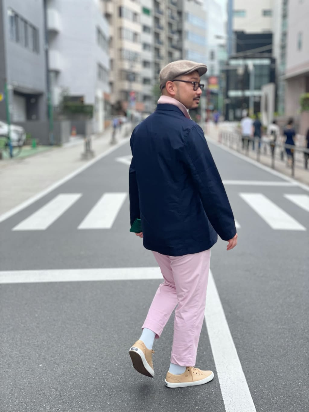 ALPHA SHOP渋谷店のKataoka.RさんのALPHAの【再値下げSALE】【Begin 12月号掲載】アンコンジャケットを使ったコーディネート