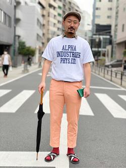 ALPHA SHOP渋谷店のKataoka.RさんのEDWINの【再値下げSALE】デニスラ スリムテーパードを使ったコーディネート