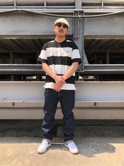 ルミネエスト新宿店のHibikiさんのLeeのAMERICAN RIDERS 101Z ストレートジーンズを使ったコーディネート
